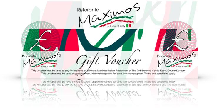 Italian Pizza Pasta Restaurant Durham Gift Vouchers